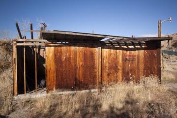 Old abandoned shack