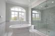 Leinwanddruck Bild - Master bath with large shower
