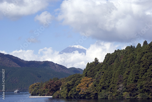 Lake Ashi and Mt. Fuji, Japan