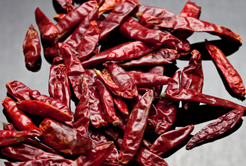 Dried Red Chili Peppers