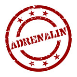 stempel adrenalin I poster