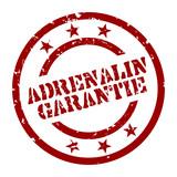 stempel adrenalin garantie I poster