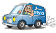 Mechanician Service Van - 27655442