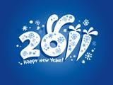 Fototapety New  2011 year background.