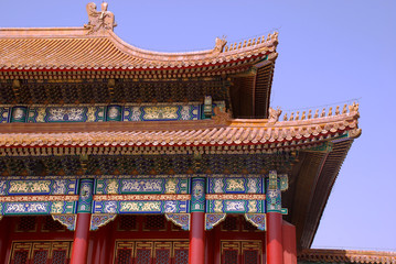 ancient chinese pagoda (Beijing, China)