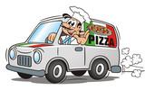Pizza Service Van