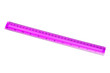 Leinwandbild Motiv plastic pink ruler