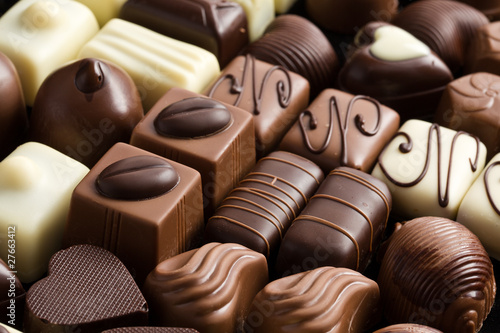 Aluminium Snoepjes various chocolate pralines