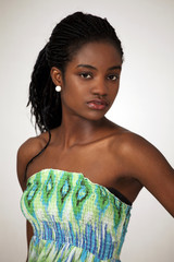 Beautiful african girl