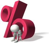 High interest rates hurt borrower investor poster