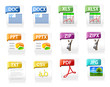 Common File Type Icons