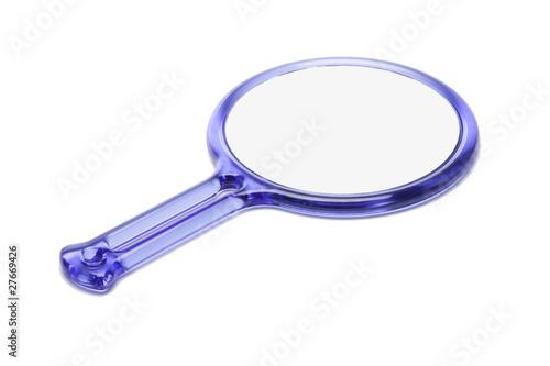 Plastic hand mirror - 27669426