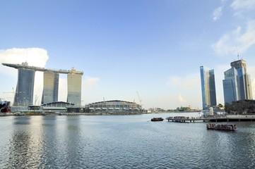 Marina Bay Sands and Marina CBD, Singapore
