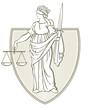 Justizia Wappen - 27673887