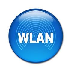 Boton brillante texto WLAN