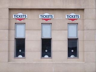 Concert Ticket Window