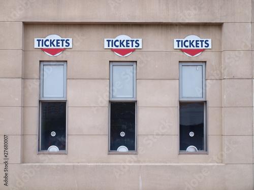 Concert Ticket Window
