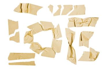 Masking tape graphic elements