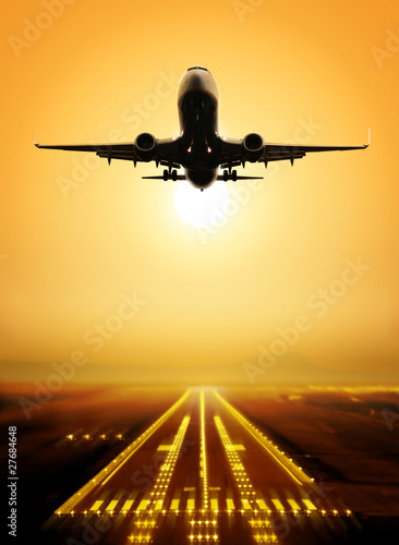 take-off runway - 27684648