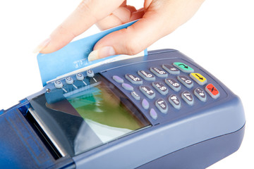Paying with credit card