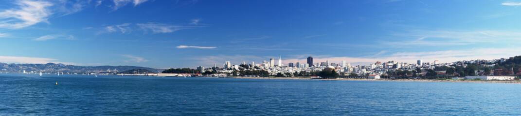 skyline of San-Francisco