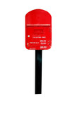 postbox isolated poster