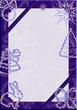 Постер, плакат: говогодняя рамка