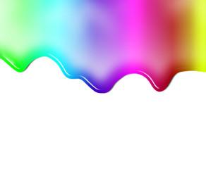 fondo con pintura o liquido de colores