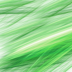 Abstract green structure simulating a pencil