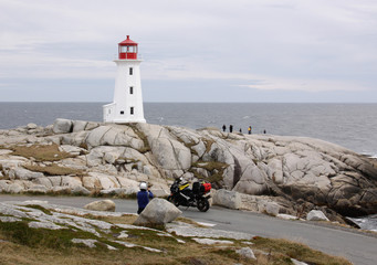 At Peggy's Cove