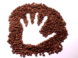Hand in Coffee