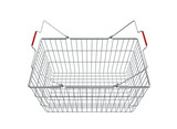 Shopping basket - 3d render