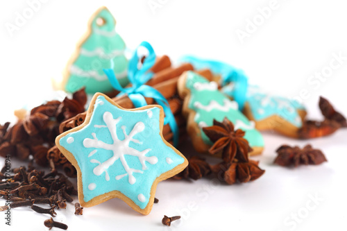 gingerbread- cookies with spices
