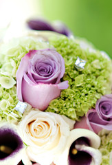 Rose Flower Wedding Boquet