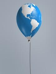 global map balloon