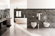 Contemporary Designed Bath