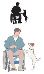 介助犬との信頼