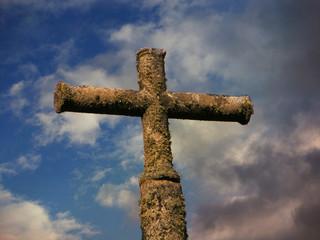 Cruz de piedra