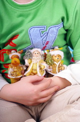Boy and Christmas figures nb.3