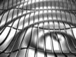 Abstract stripe aluminum pattern