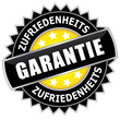 Zufriedenheits Garantie - Button