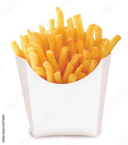 Fototapeta french fried chips