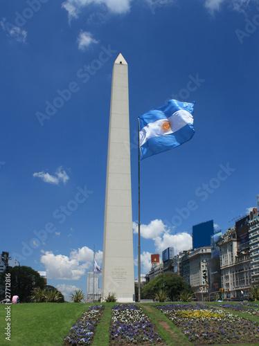 Obelisk in Buenos Aires, Argentinien