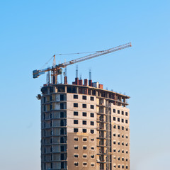 Construction of high rise residential building