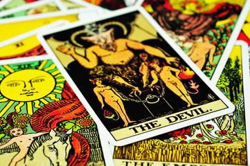 Fortune teller Tarot cards