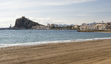 View of Aguilas Town and Port, Murcia, Spain poster