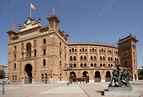 Leinwanddruck Bild Las Ventas. Madrid