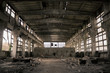Abandoned Industrial interior - 27722012