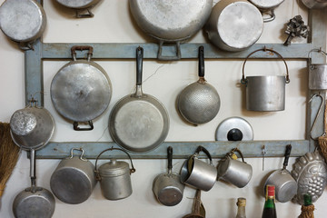 old kitchen equipment