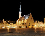 Raekoja square in Tallinn - Fine Art prints